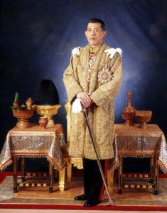 タイ国王・ラーマ10世の写真