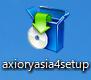 アキシオリーのダウンロードボタン