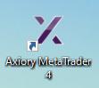AXIORYのMT4のアイコン