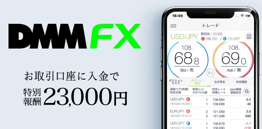 DMMFXのアフィリエイト報酬画面