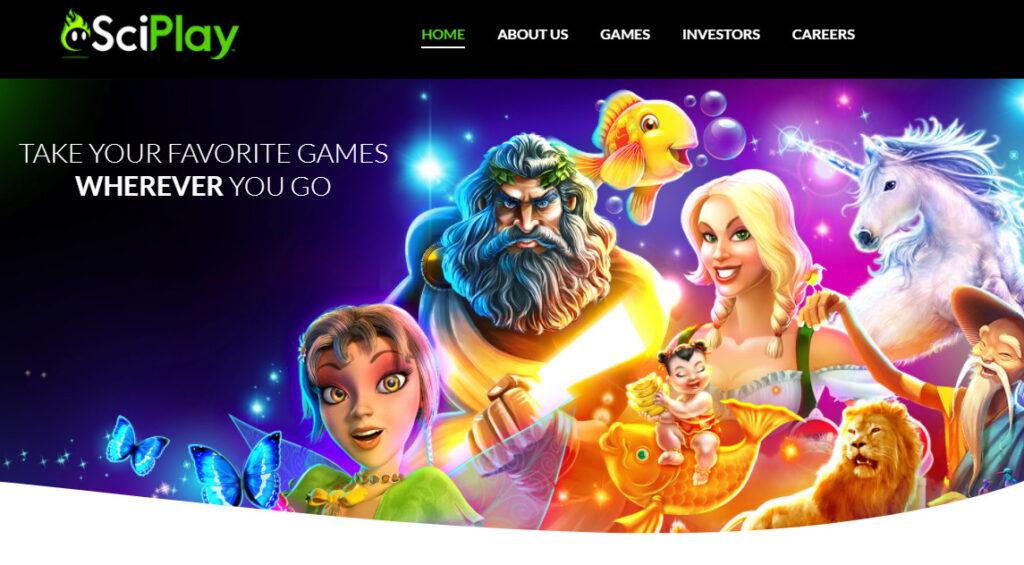 サイプレイのホームページ